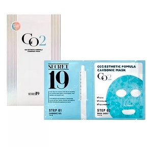 Набор (гель+маска) для карбокситерапии CO2 Esthetic Formula Carbonic Mask на 1 процедуру